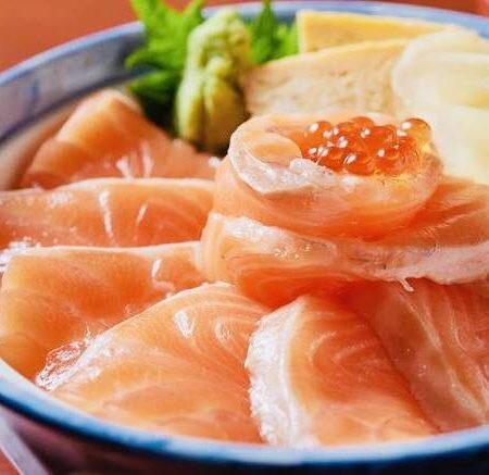 トロサーモン丼
