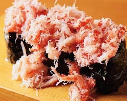 カニこぼれ寿司(4貫)