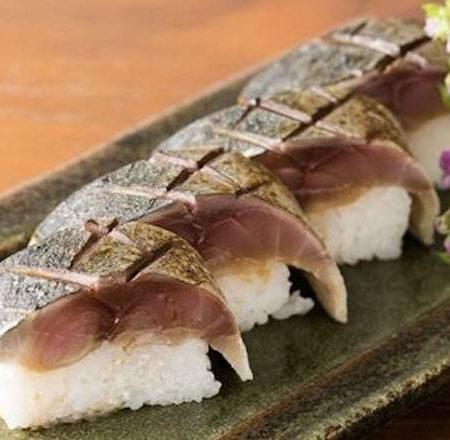 トロさばの棒寿司