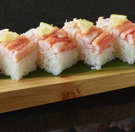 カニ押し寿司(6貫)