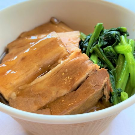 豚角煮のせ丼