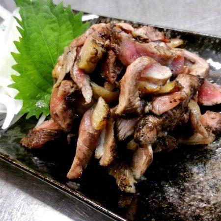薩摩地鶏のタタキ(たまり醤油)