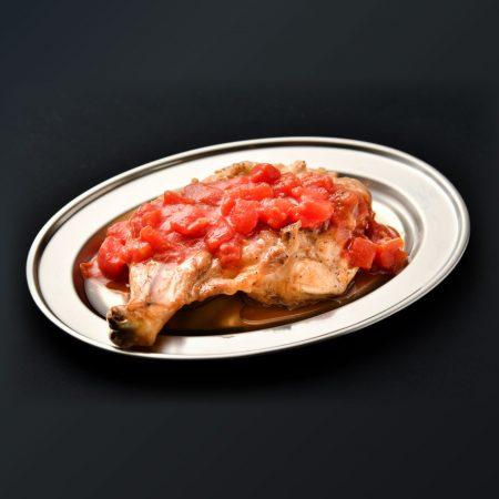 道産骨付とりもも肉名物グリルチキンボーントマト