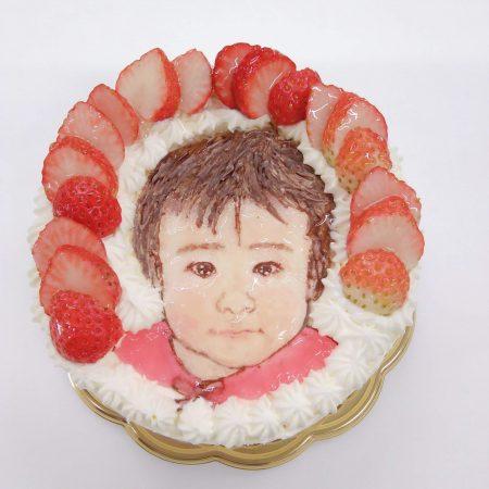 オリジナルイラストケーキ